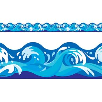Water Waves Terrific Trimmer By Trend Enterprises