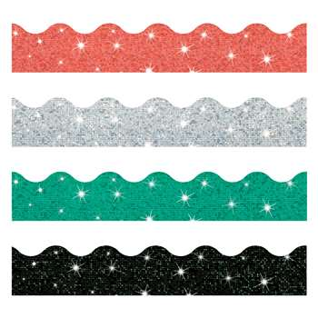 Sparkle Solids Border Variety Pack, T-92929