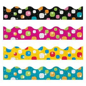 Super Dots Sparkle Plus Border Variety Pack, T-92931