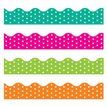 Polka Dots Border Variety Pack, T-92932