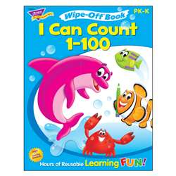 I Can Count 1-100 Wipe Off Book Gr Pk-K By Trend Enterprises