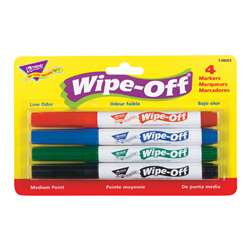 Wipe Off Marker 4 Standard Colors By Trend Enterprises