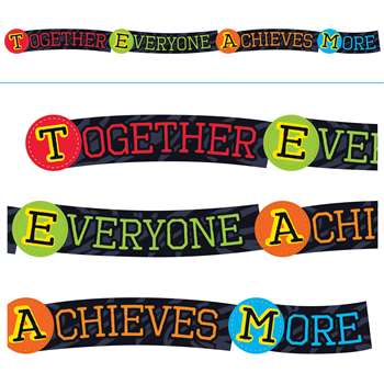 Together Everyone Achieves More Banner, T-A25220