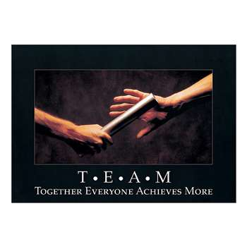 Poster T.E.A.M. Together Everyone By Trend Enterprises