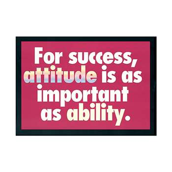 Poster For Success Attitude Is 13 X 19 Large By Trend Enterprises
