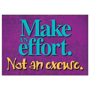 Poster Make An Effort 13 X 19 Large By Trend Enterprises