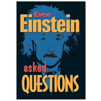 Poster Even Einstein Asked By Trend Enterprises
