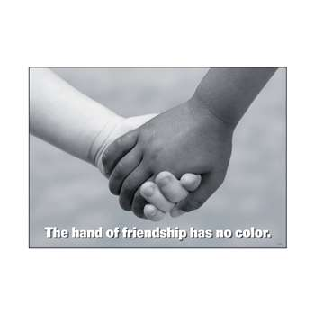 Poster The Hand Of Friendship By Trend Enterprises
