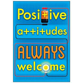 Positive Attitudes Always Poster, T-A67051