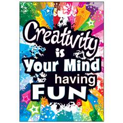 Creativity Is Your Mind Poster, T-A67056