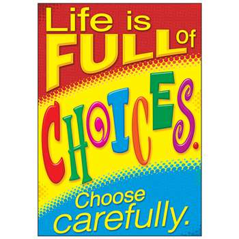 Life Choose Carefully Poster, T-A67062