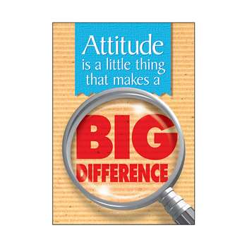 Poster Attitude Is A Little Thing By Trend Enterprises