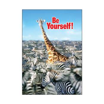 Poster Be Yourself. By Trend Enterprises