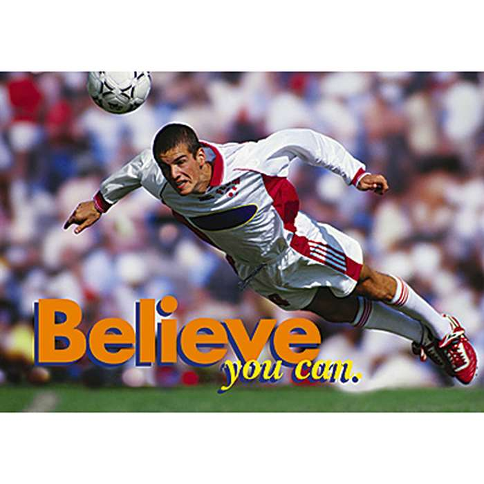 Poster Believe You Can. By Trend Enterprises