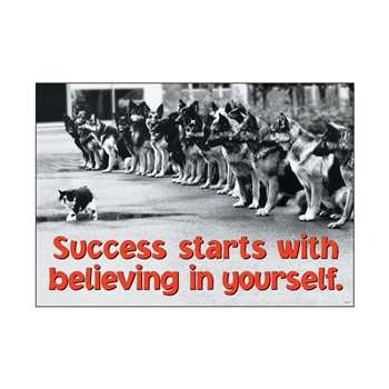 Success Starts With Believing In By Trend Enterprises