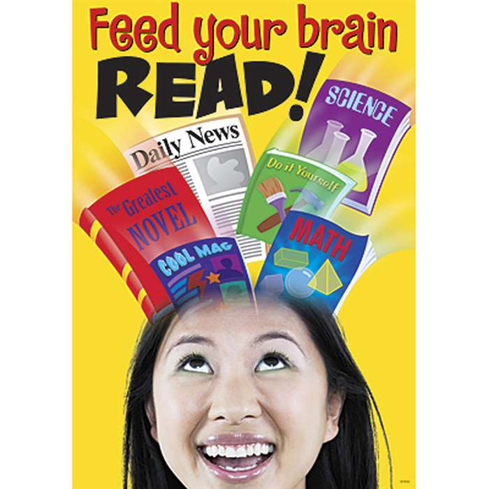 Feed Your Brain Read By Trend Enterprises