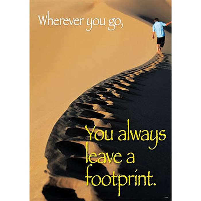 Wherever You Go You Always Large Posters By Trend Enterprises