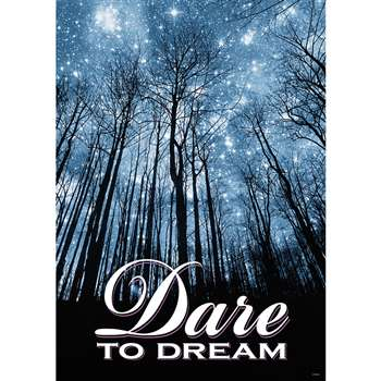 Dare To Dream Large Poster By Trend Enterprises
