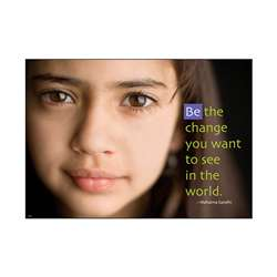 Be The Change Large Posters By Trend Enterprises