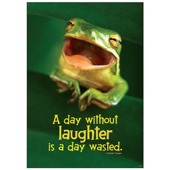 Poster A Day W/Out Laughter Is A Day Wasted Charlie Chaplin Argus By Trend Enterprises