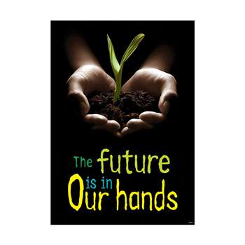 Poster The Future Is In Our Hands Argus By Trend Enterprises