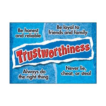 Trustworthiness Poster By Trend Enterprises