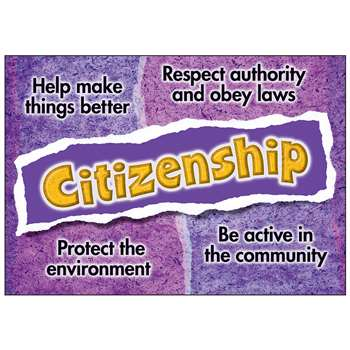 Citizenship Poster By Trend Enterprises
