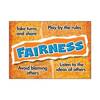 Fairness Poster By Trend Enterprises