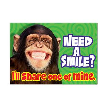 Need A Smile I Ll Share One Poster By Trend Enterprises