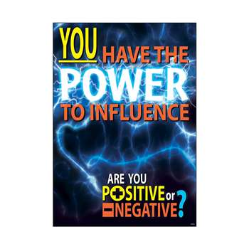You Have The Power To Influence Argus Large Poster By Trend Enterprises