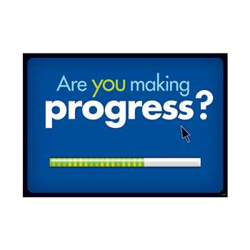 Are You Making Progress Argus Large Poster By Trend Enterprises