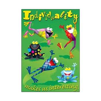 Individuality Makes Us Interesting Argus Large Poster By Trend Enterprises
