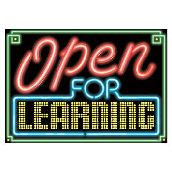 Yes Were Open For Learning Argus Large Poster By Trend Enterprises