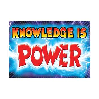 Knowledge Is Power Poster By Trend Enterprises
