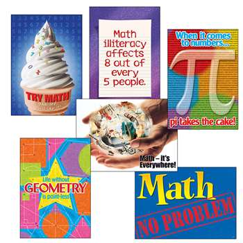 Math Matters Combo Sets Argus Posters By Trend Enterprises