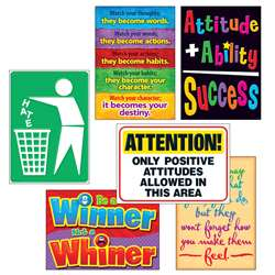 Attitude Matters Posters Combo Pack By Trend Enterprises
