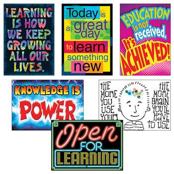 Learning Power Posters Combo Pack By Trend Enterprises