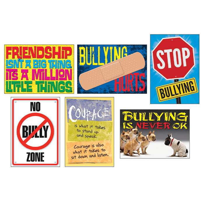 No Bully Zone Argus Poster Combo Pack, T-A67930