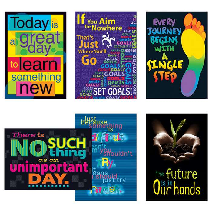 Think & Inspire Argus Poster Combo Pack, T-A67932