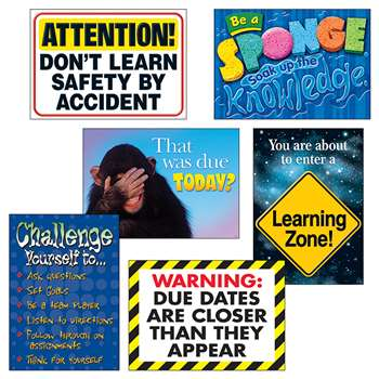 Learning Zone Argus Poster Combo Pk, T-A67933