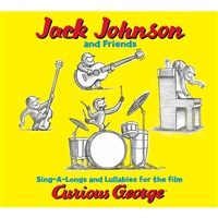 Jack Johnson Curious George Soundtrack Cd, TAF14010