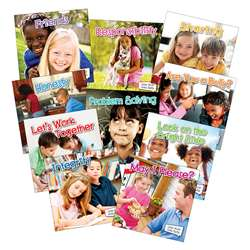 Little World Social Skills 10 Book Set By Teacher Created Resources