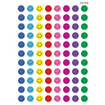 Mini Stickers Happy Faces 528Pk By Teacher Created Resources
