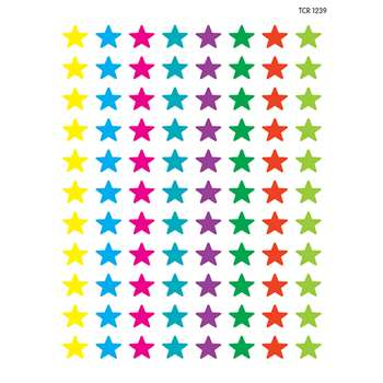 Mini Stickers Stars By Teacher Created Resources