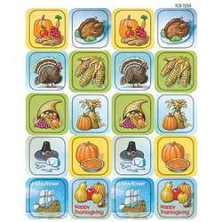 Thanksgiving Stickers By Teacher Created Resources