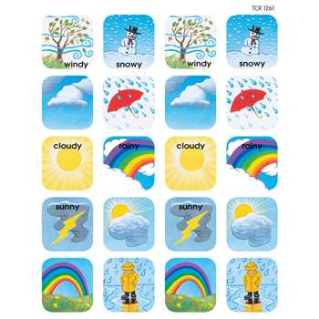 Stickers Weather By Teacher Created Resources