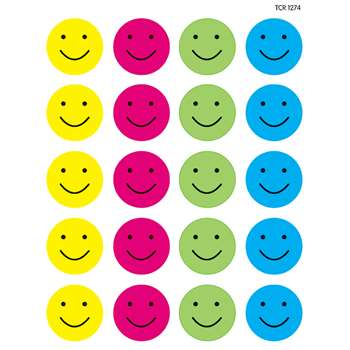 Happy Faces Stickers, TCR1274