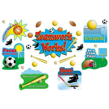 Sports Teamwork Bulletin Board Set By Teacher Created Resources