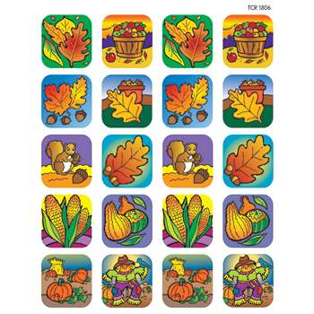 Fall Stickers, TCR1806