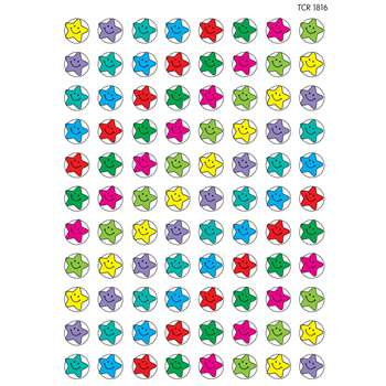 Mini Stickers Happy Stars 528Pk By Teacher Created Resources